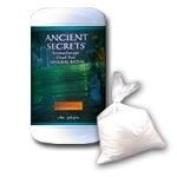 Ancient Secrets Patchouli Aromatherapy Dead Sea Mineral Bath 0.9kg. jar (a) - 2pc