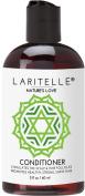 Laritelle Organic Travel Size Conditioner 60ml   Organic Macadamia + Keratin + Follicle Stimulating Rosemary, Ginger & Grapefruit   Fortifying Hair Growth Formula   NO GMO. Vegan