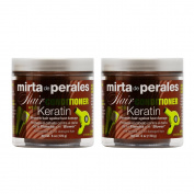 "Mirta De Perales Hair Conditioner with Keratin 180ml ""Pack of 5.1cm"
