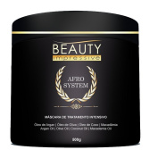 Afro System Hair Treatment Mask 500g by Beauty Impressive- Hydrating & Restorative Mask Restores Shine, Nourishes Scalp & Provides Deep Conditioning for Dry & Damaged Hair