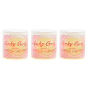 "Kinky Curly Original Curling Custard Natural Styling Gel 240ml ""Pack of 7.6cm"