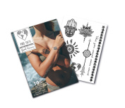 Good Karma Collection- Black Temporary Tattoos