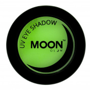 Moon Glow - Blacklight Neon Eye Shadow 5ml Green - Glows brightly under Blacklights / UV Lighting!