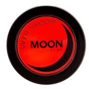 Moon Glow - Blacklight Neon Eye Shadow 5ml Red - Glows brightly under Blacklights / UV Lighting!