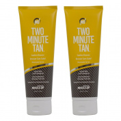 "Two Minute Tan Sunless Bronzer Instant Glow Dark Tanning Gel 240ml ""Pack of 5.1cm"