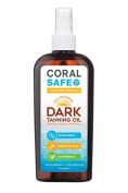Coral Safe Tanning Oil - All Natural, Waterproof and Reef Safe, 240ml