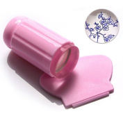 Yonger Soft Stamper and Scraper Set - DIY Nail Art - Stamping Tools Pink