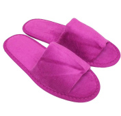 Slippers One Size Open Toe Pink Berry