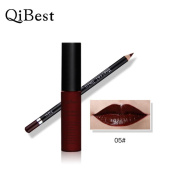 Sandistore Waterproof Pencil Long Lasting Lipliner With Lipstick perfect combination