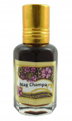 Nag Champa Fragrance Perfume Oil 100% Pure and Natural - 10ml