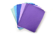 """Bloomin """"Plant Me"""" Original Seed DIY Crafting Paper, 10 sheets, 8.5x11 - {Cool Colour Set}"""
