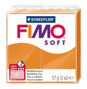 Fimo Soft Polymer Clay 60ml-Sunny Orange