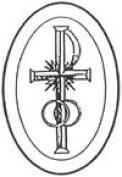 10cm x 15cm Oval Engraved Cross/Rings Premium 1.3cm Bevelled Glass - Pkg of 4