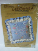 Creative moments candlewick heart of roses needle craft pillow