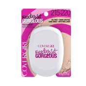 COVERGIRL Ready, Set Gorgeous Compact Powder Foundation Medium 215/220 10ml