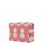 Pineapple Print Large Cosmetic Travel Pouch