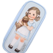 Afrocat Paper Doll Mate Make Up Pouch P Cosmetic Pencils Brushes Travel Bag Case