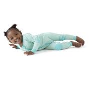 baby deedee 1 Piece Long Sleeve Footless Romper, 12-18 Months, Mint