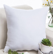 18/2.3cm Solid Colour Stuffed Throw Pillow LivebyCare Filled Cushion Filling Bed Pillows Pattern Zipper For Decor Decorative Lounge Saloon