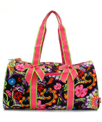 J & C Family Owned Ladybug Quilted 50cm Duffle Bag