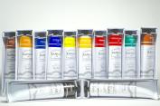 Paxton Oil Colour Set - Bundle of 12 tubes 200 ml