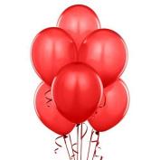 28cm Latex Balloons Red Pkg/100