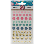 Bolt Self-Adhesive Droplets 61/Pkg-