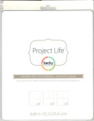 Project Life - Photo Pocket Pages 15cm x 20cm - Variety Pack - Design 2, Design 3 and Design 4 - 12 Pages
