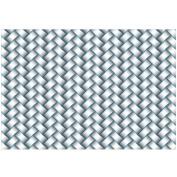 Sizzix 661261 3-D Textured Impressions Embossing Folder, Woven by Lynda Kanase