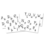 Cool Tools - Jewel Stamps for Soft Clay - Initials Complete Alphabet - Cute 'N Quirky