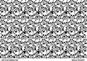 Flexistamps Texture Sheet - Skulls Aplenty Full Sheet