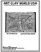 FlexiStamps Texture Sheet South Seas Tribal Inverse Design - 1 pc.