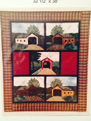 Bridges of the Past Quilt pattern 80cm x 100cm
