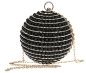 Thenice Women's luxury Pearl Rhinestone flash Wedding ball Evening Bags Clutch