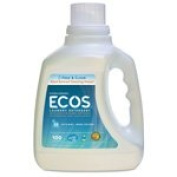 Earth Friendly Products Ecos Laundry Liquid, Free & Clear 2960ml (a) - 2pc