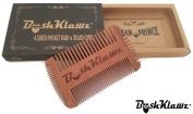 BushKlawz 4 Sided Pocket Beard, Moustache, Hair, and Side Burns Comb