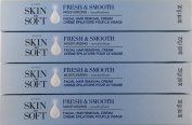 Avon Skin So Soft Fresh & Smooth Moisturising Facial Hair Removal Cream - Set of 4