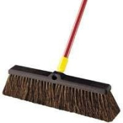 QuickieProducts 46cm Rough Sweep Pushbroom, Sold as 1 Each