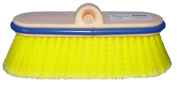 Magnolia Brush 3045 Ultra Block Truck Wash Brush, Flagged Polystyrene Bristles, Yellow