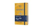 Moleskine Limited Edition Peter Pan, Notebook, Pocket, Ruled, Peter Orange Yellow