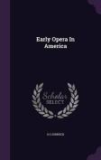 Early Opera in America