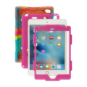 iPad Mini 4 Case, ACEGUARDER New Design [Rainproof] [Dirtproof] [Shockproof] [Kids Friendly] Case with Stand, Super Protection Case for iPad Mini 4 (2015)