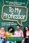 To My Professor