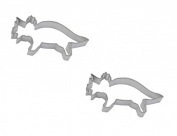 15cm Triceratops Cookie Cutter, Set of 2