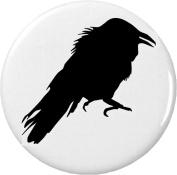 Black Raven 5.7cm Bottle Opener w/ Keyring Crow Bird