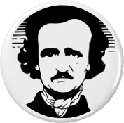 Edgar Allan Poe 5.7cm Bottle Opener w/ Keyring Poet Writer