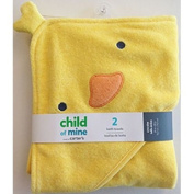 Child Of Mine by Carter's Newborn Baby Boy or Girl Unisex Hooded Towel