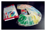 New Family Fun #1 UNO H2O Waterproof Clear Game Playing Card