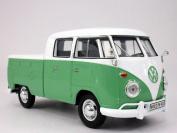 Volkswagen - VW - T1 Pick-Up Bus Van 1/24 Scale Diecast Metal Model - GREEN
