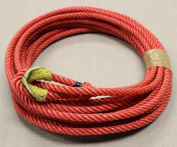 Charro Soga Reata Florear Rodeo Trick Lariat Rope With Burner